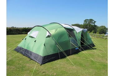 SupaDom Tent at Tangerine Fields