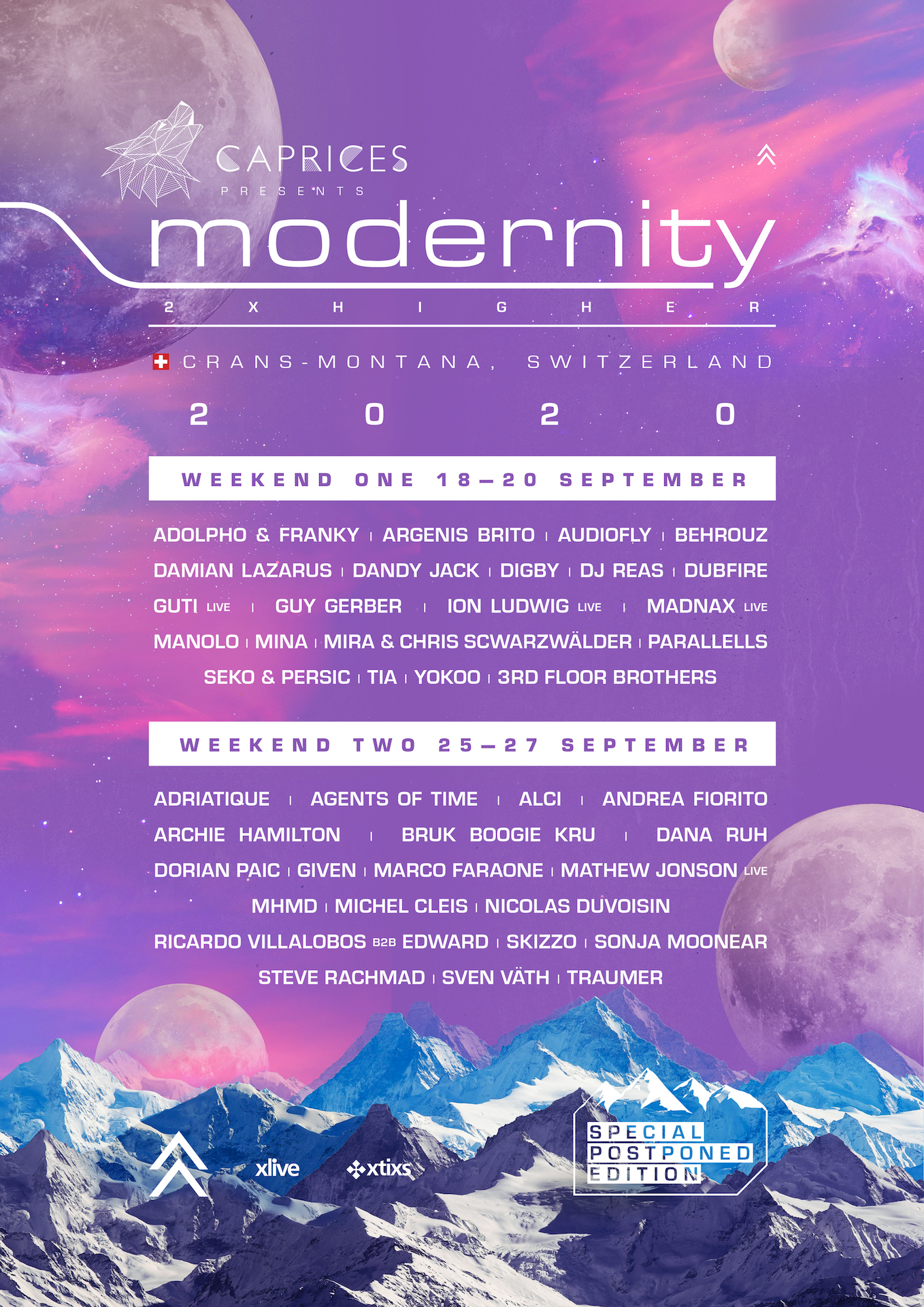 Caprices Festival 2020 Unveils its Lineup for Double Weekender ...