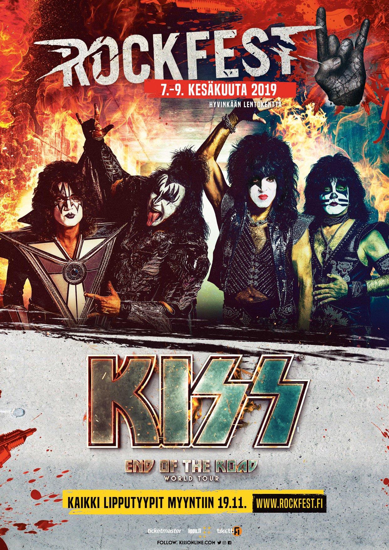 Rock Fest Add Rock Royalty to 2019 Lineup - Festicket Magazine