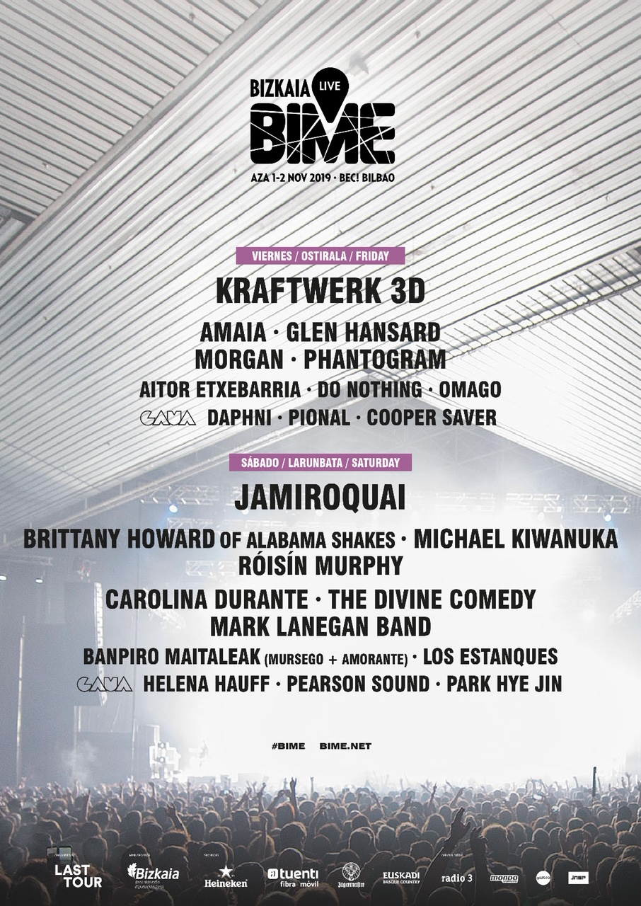 Bime Live 2019 Róisín Murphy Daphni And Helena Hauff Among New Names Announced Festicket Magazine