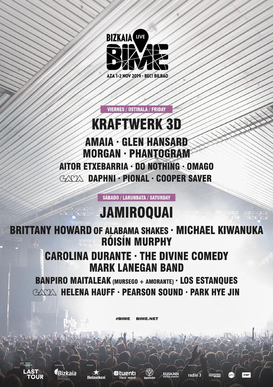 Bime Live 2019 Róisín Murphy Daphni And Helena Hauff Among New Names Announced Festicket Magazine