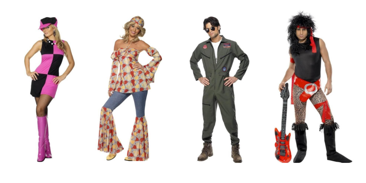 60s 70s 80s outfits