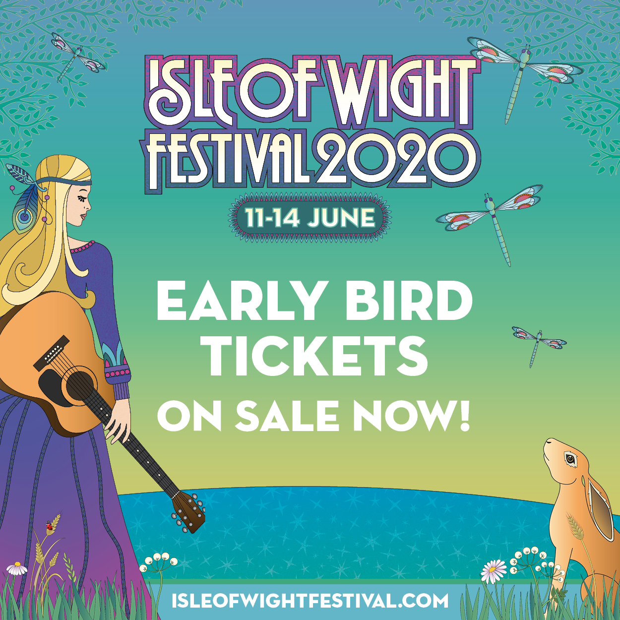 Isle of Wight Festival Announces 2020 Dates & Early Bird