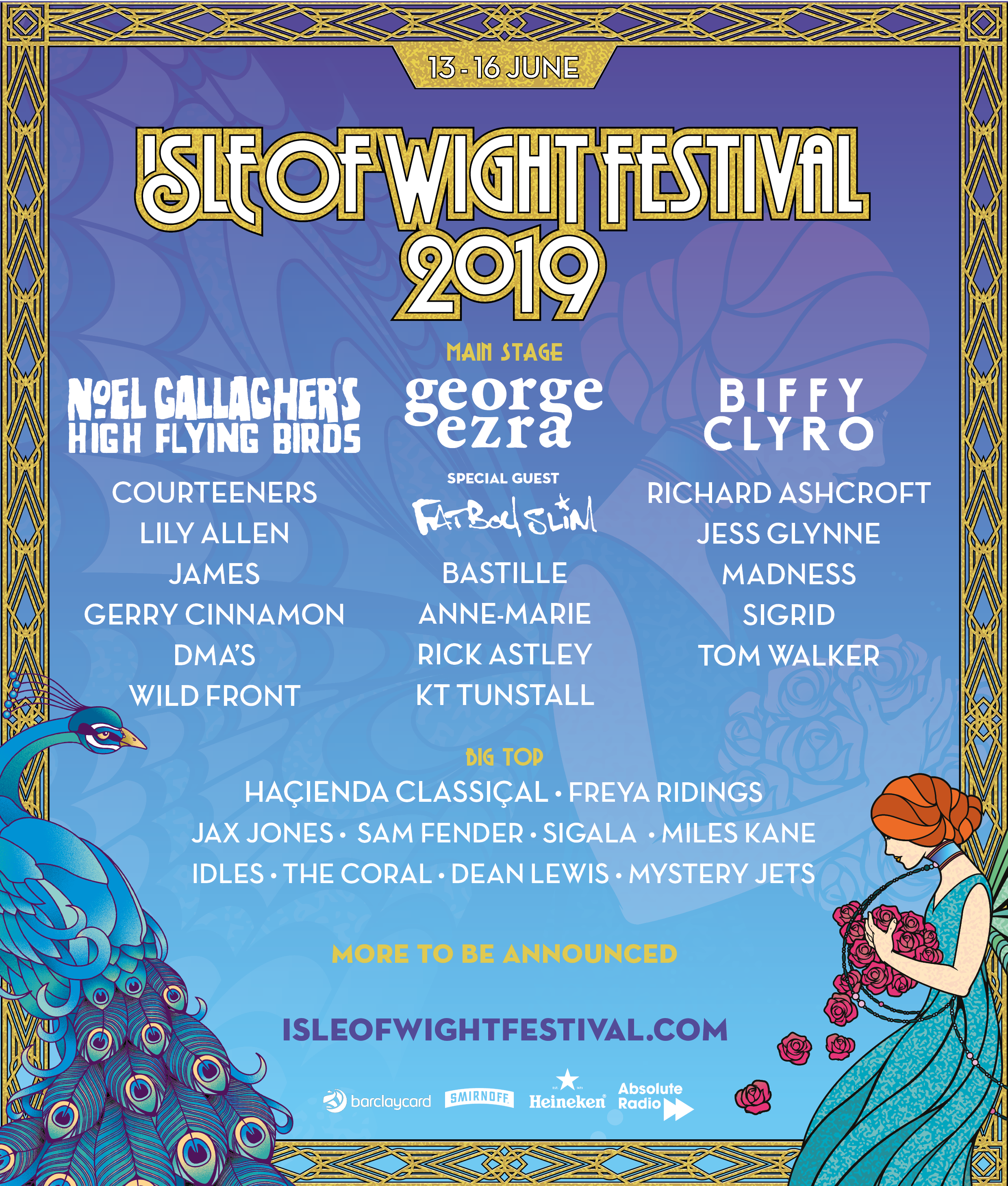 Image result for isle of wight festival 2019 lineup
