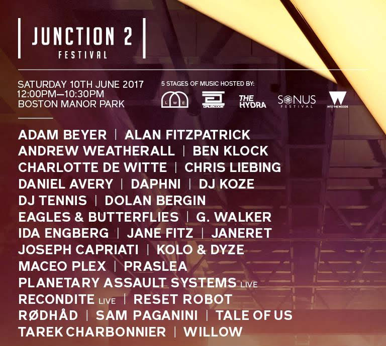 Joseph Capriati, Maceo Plex and More Added to Junction 2