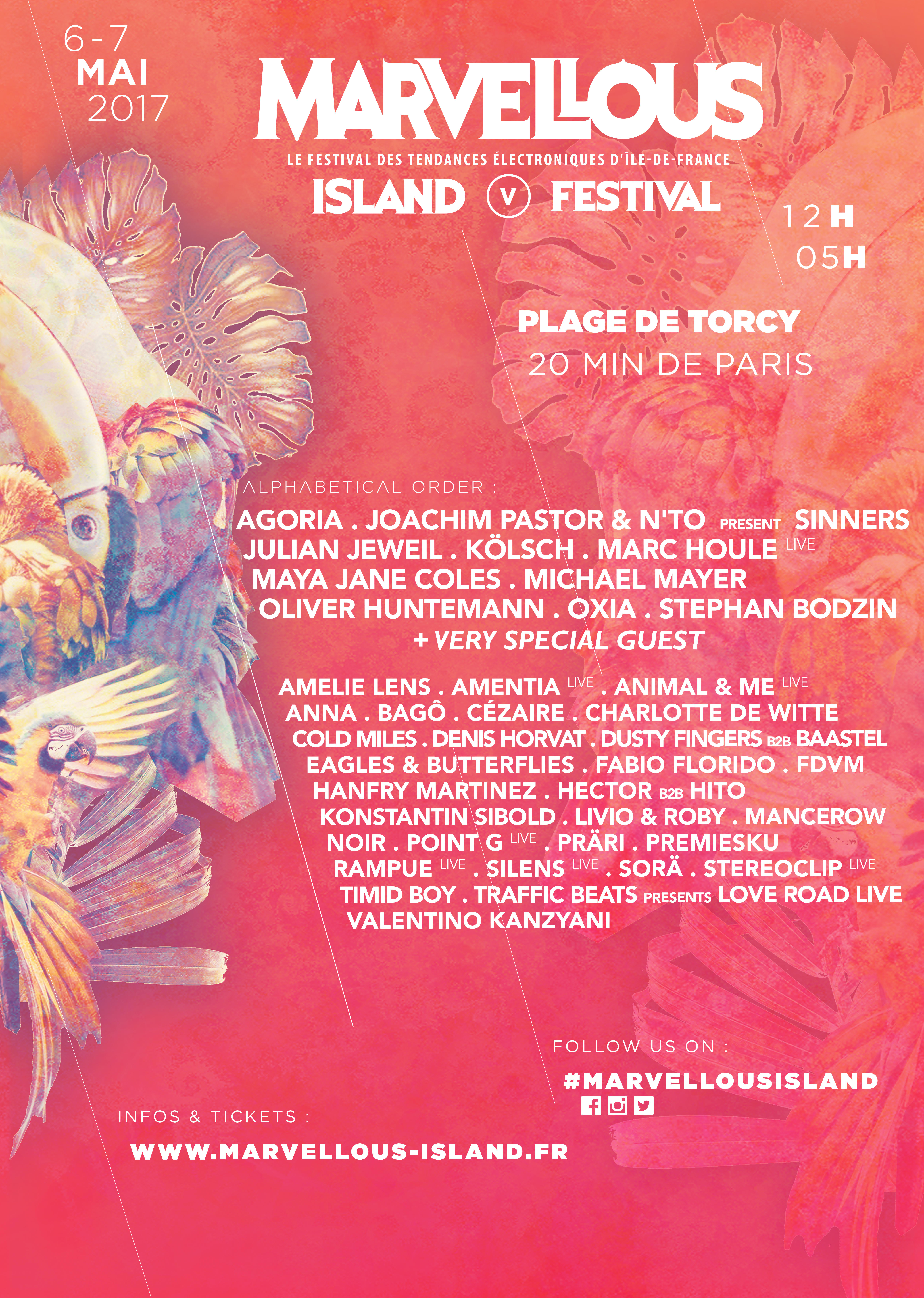 Marvellous Island Announce Next Wave of Acts - Festicket Magazine