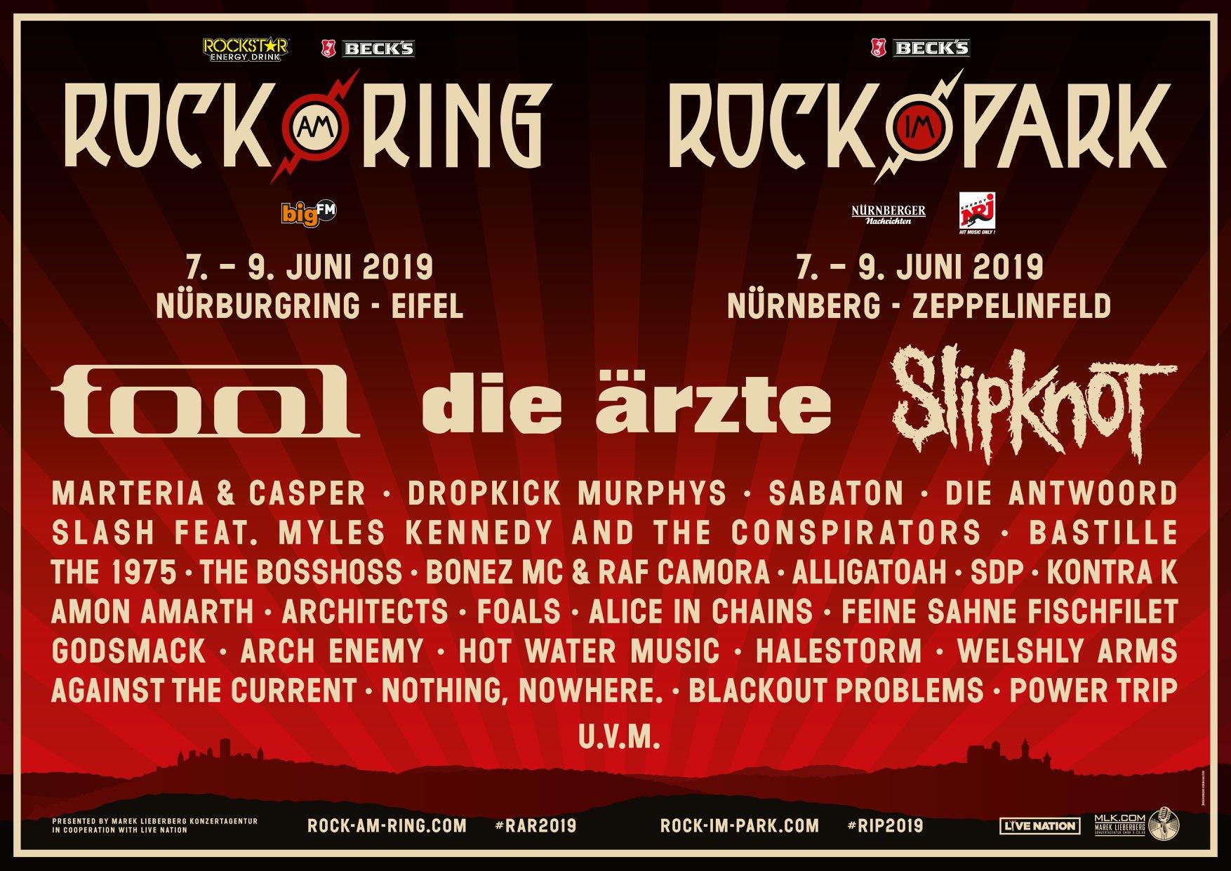 rock am ring 2019 live im tv