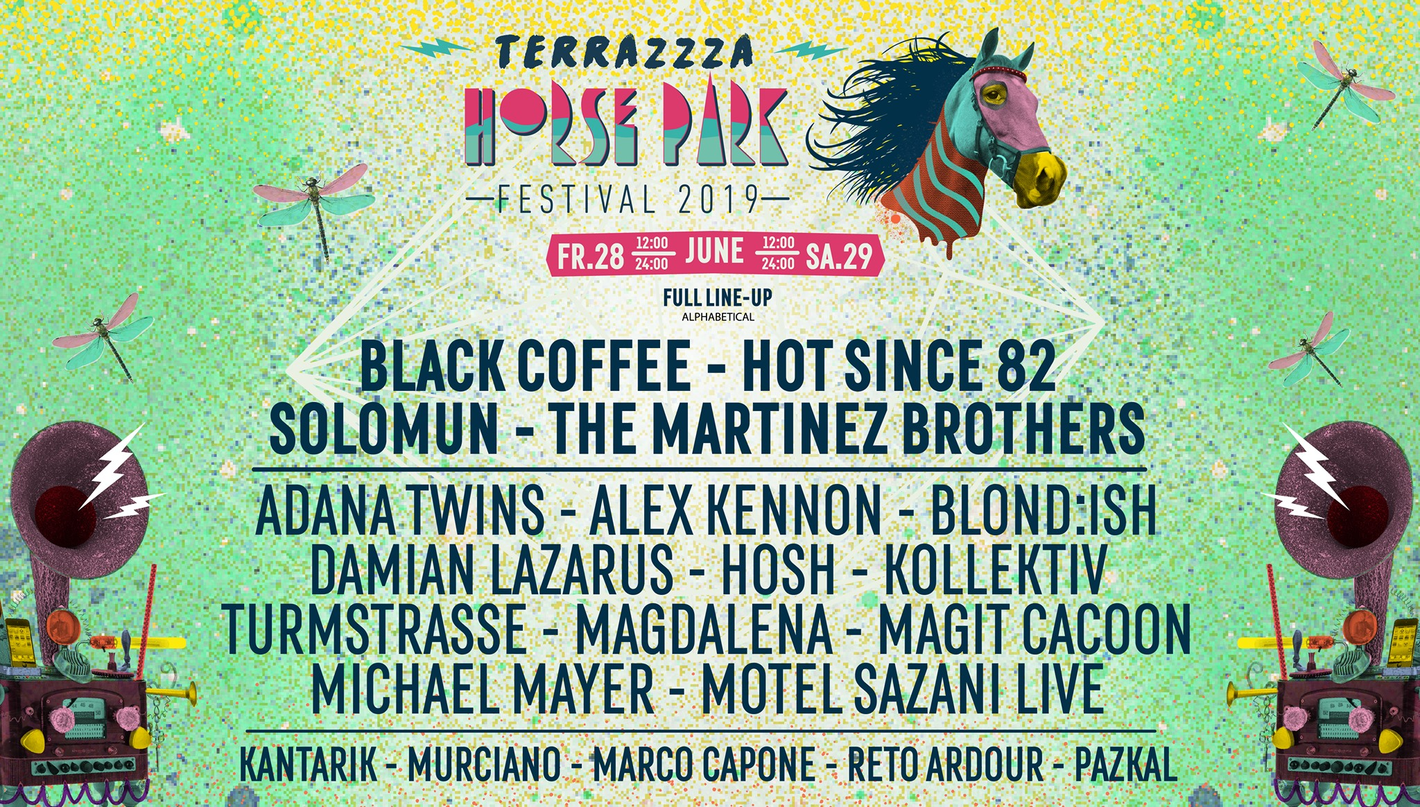 Full Lineup Revealed For Terrazzza Horse Park Festival