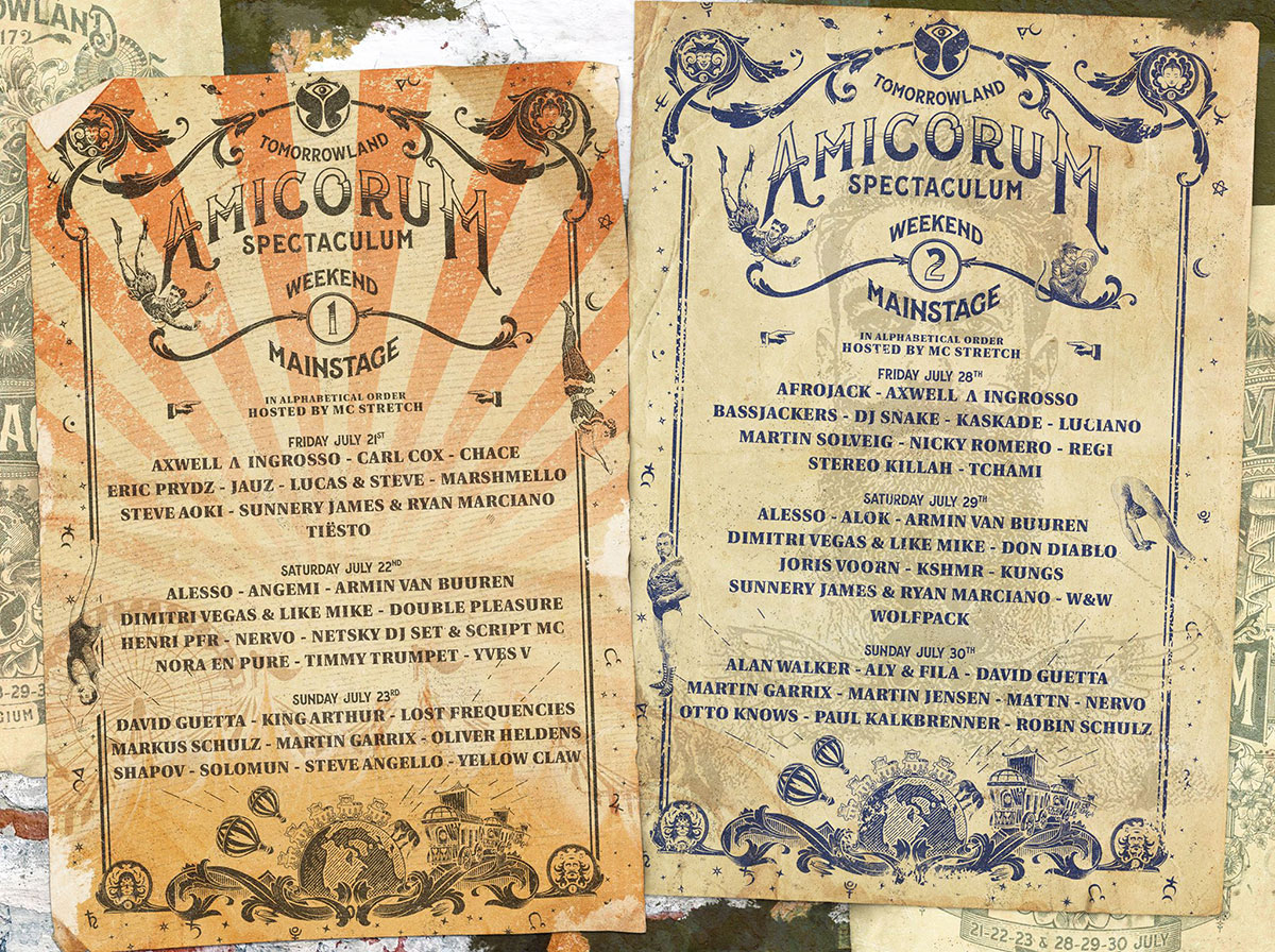 Tomorrowland: MainStage Lineup Completed - Festicket Magazine