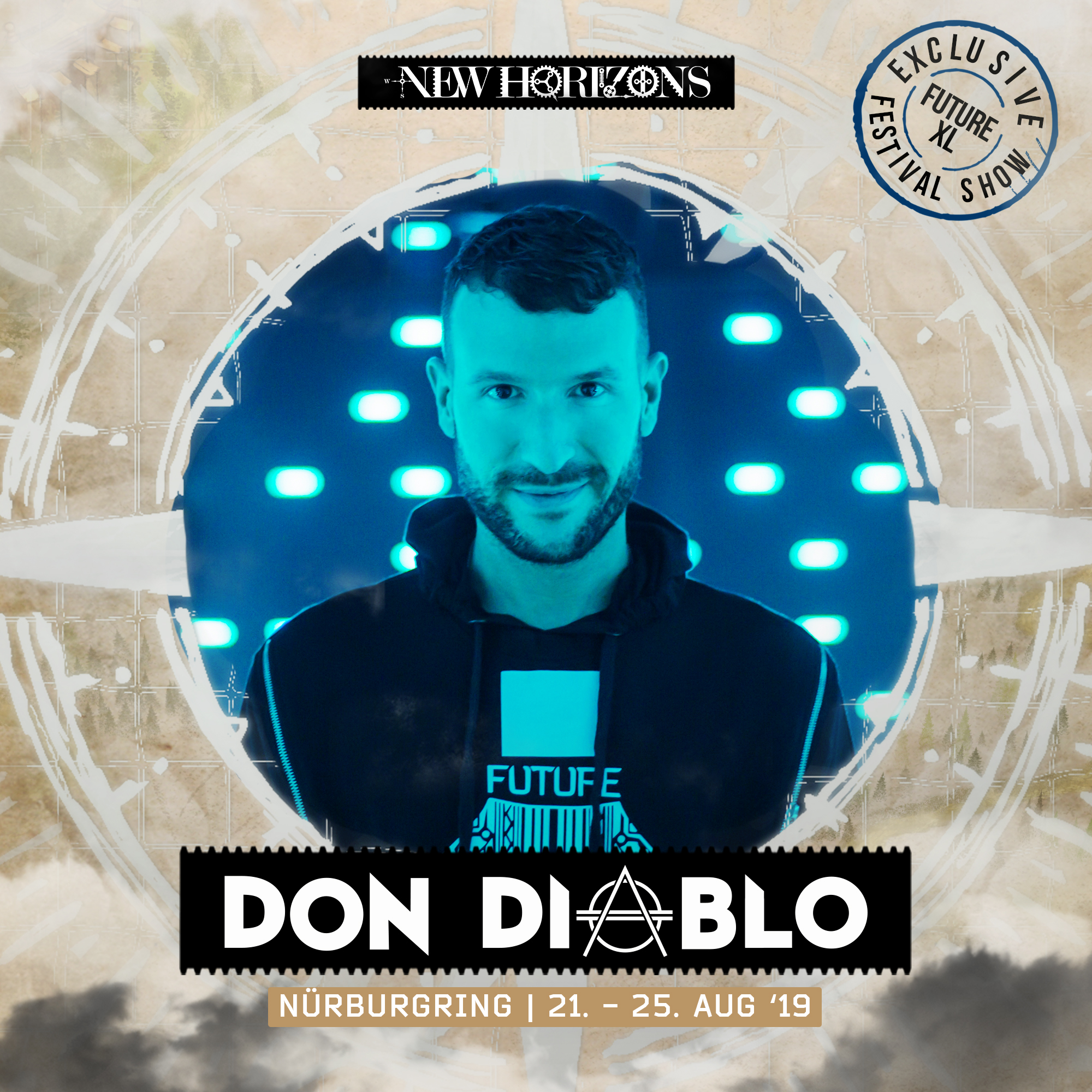 new horizons 2019 don diablo to headline festicket magazine. Black Bedroom Furniture Sets. Home Design Ideas