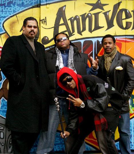 The Sugarhill Gang and Melle Mel & Scorpio (Furious Five)