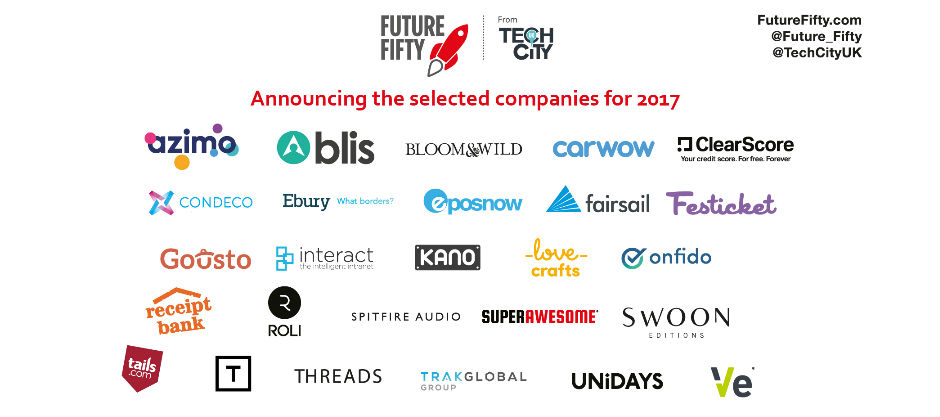 Festicket Announced as Future Fifty Company