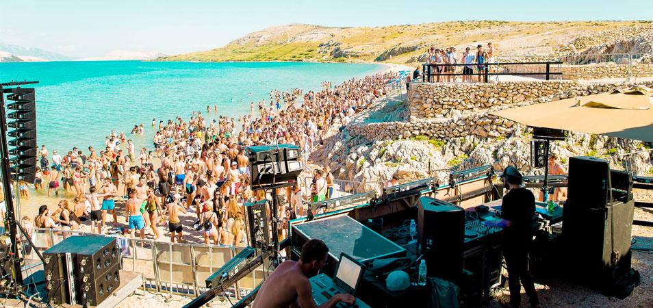 DJ EZ On A Beach: Hideout Announces Beach Party Lineup