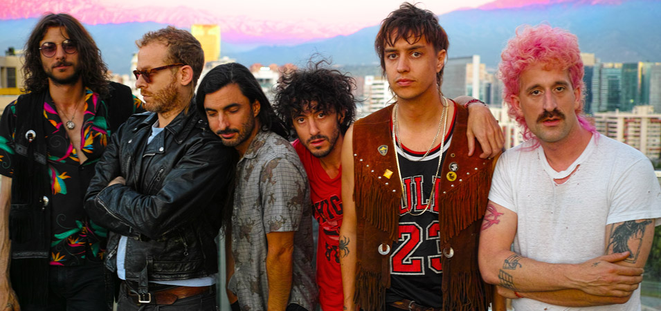 Julian Casablancas + The Voidz are Playing Super Bock Super Rock
