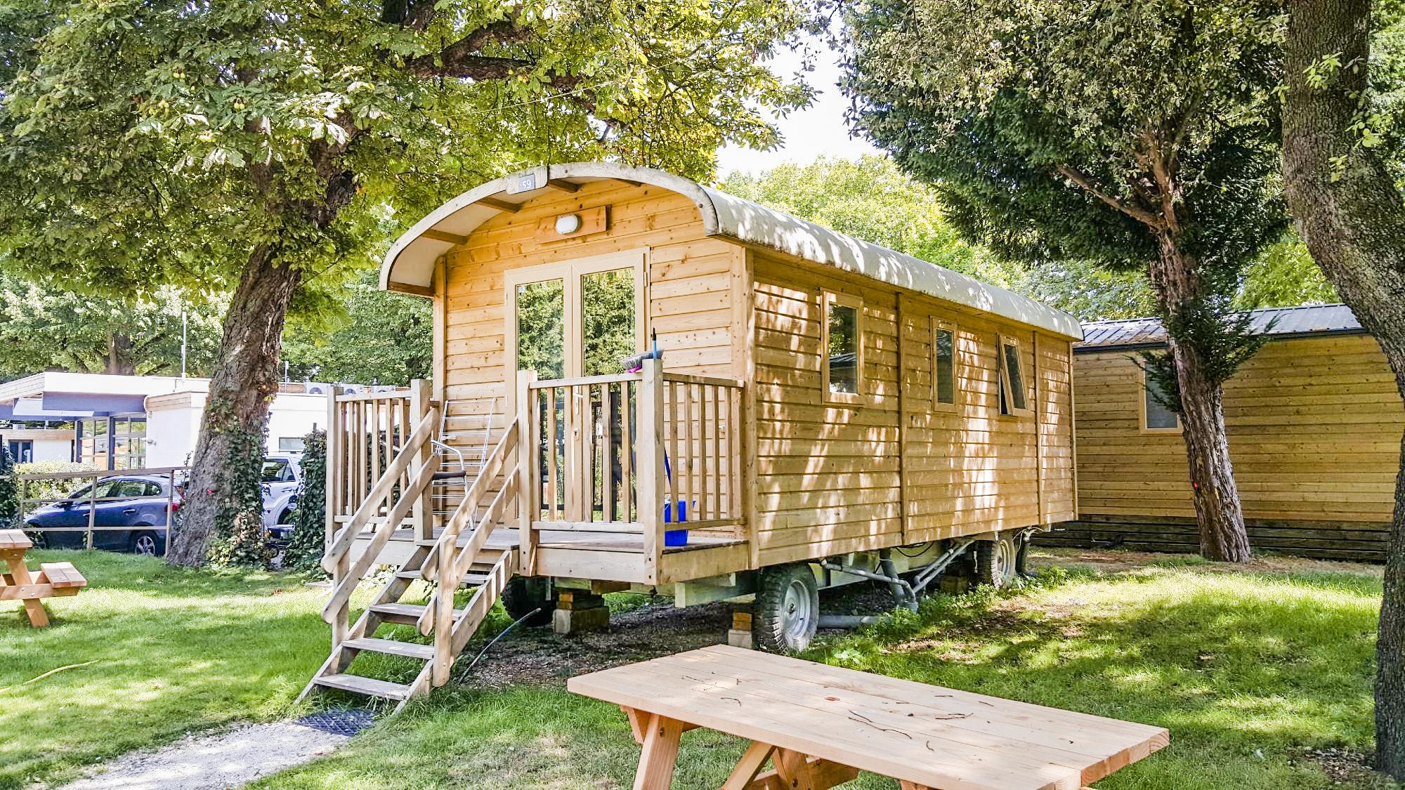 Entrada + Camping de Paris - Gypsy Caravan