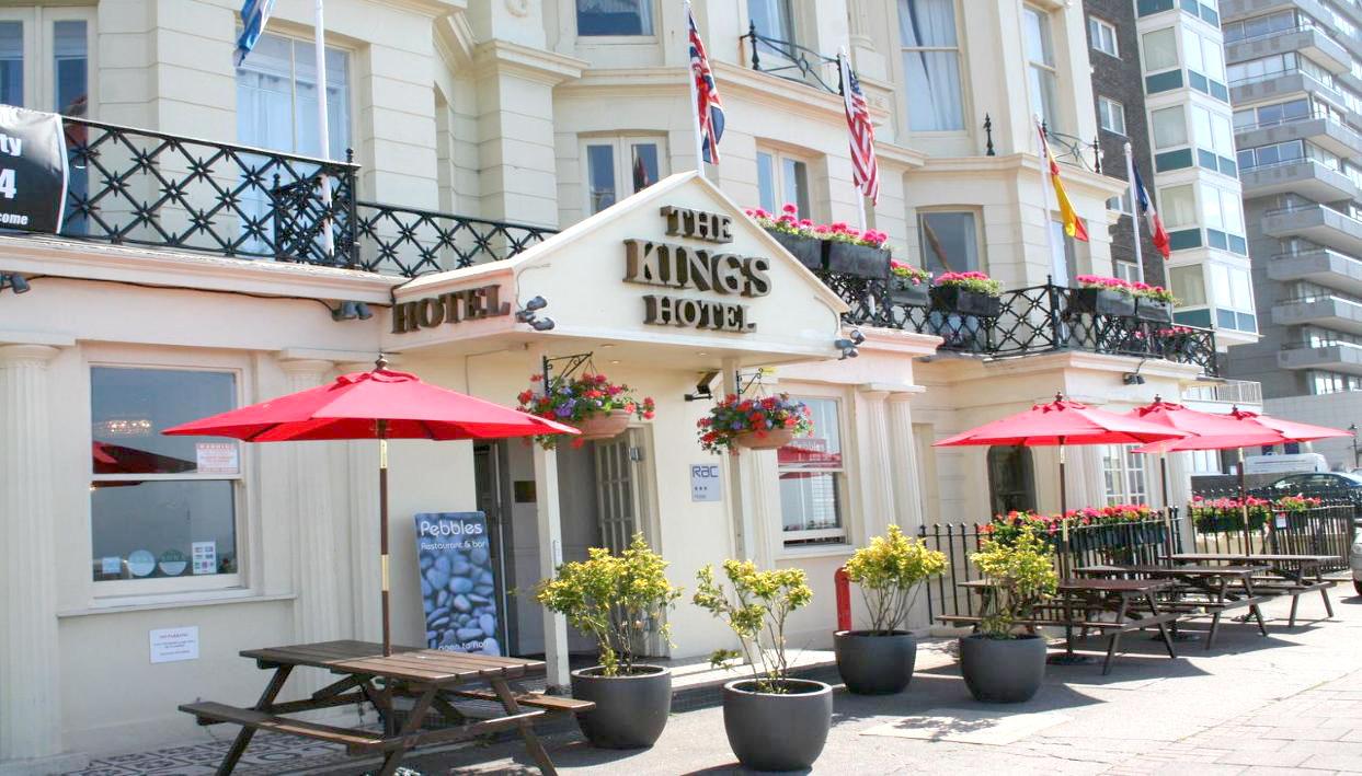 Ticket + The Kings Hotel Brighton