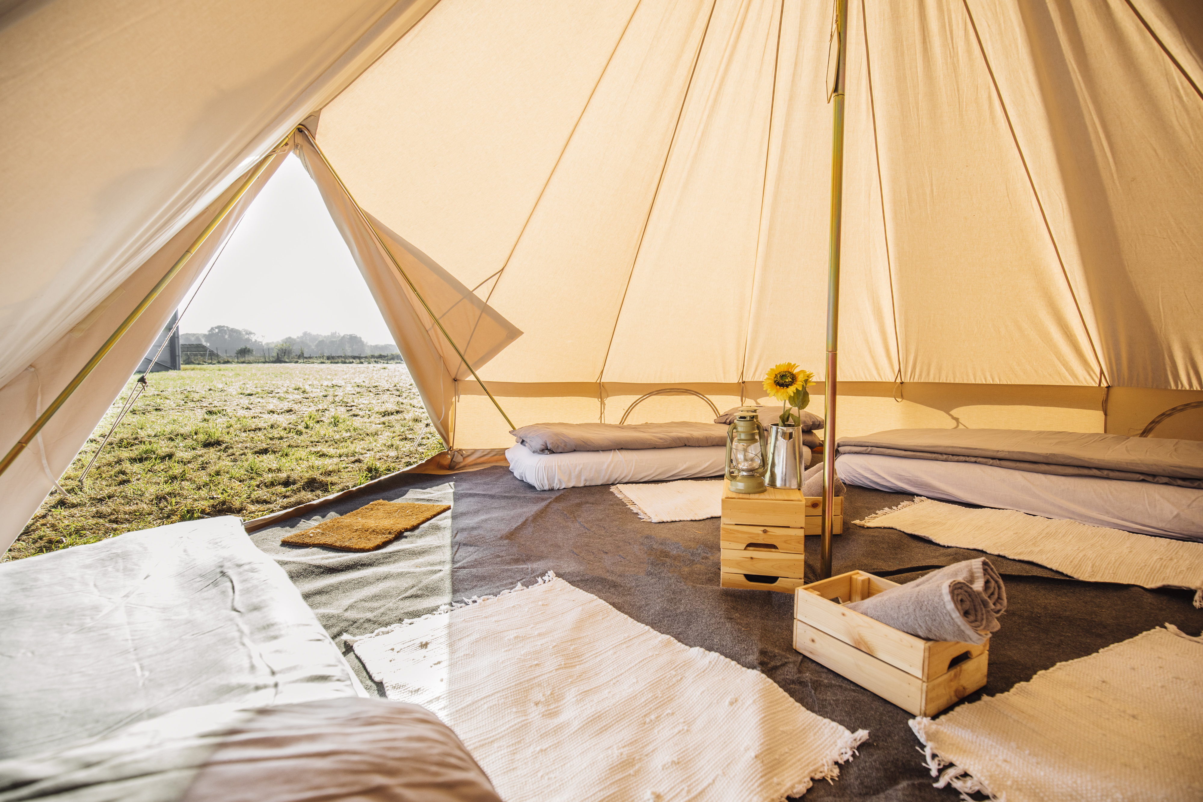 Ticket + Classic Bell Tent | Glamping @ Truck Festival