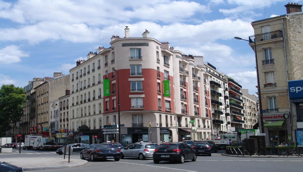 Entrada + Ibis Styles Paris Boulogne Marcel Sembat