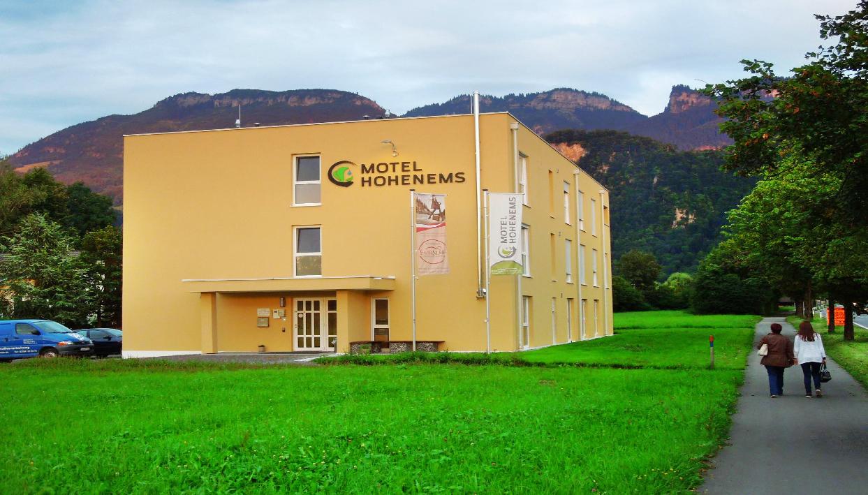 Ticket + Motel Hohenems