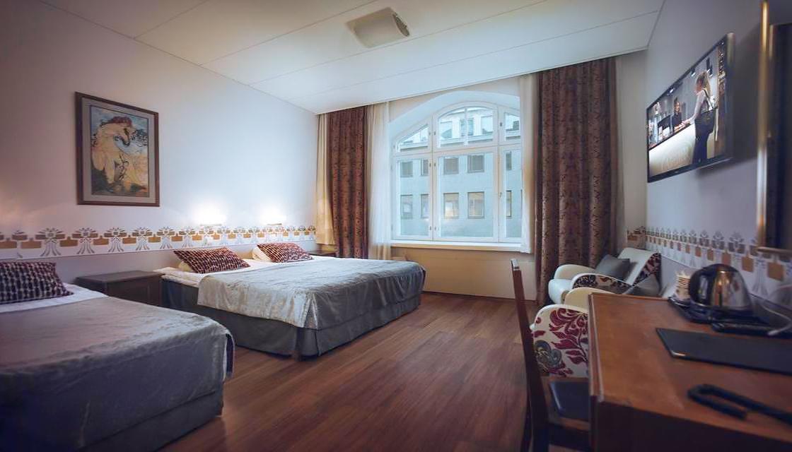 Billet + Hotel Arthur