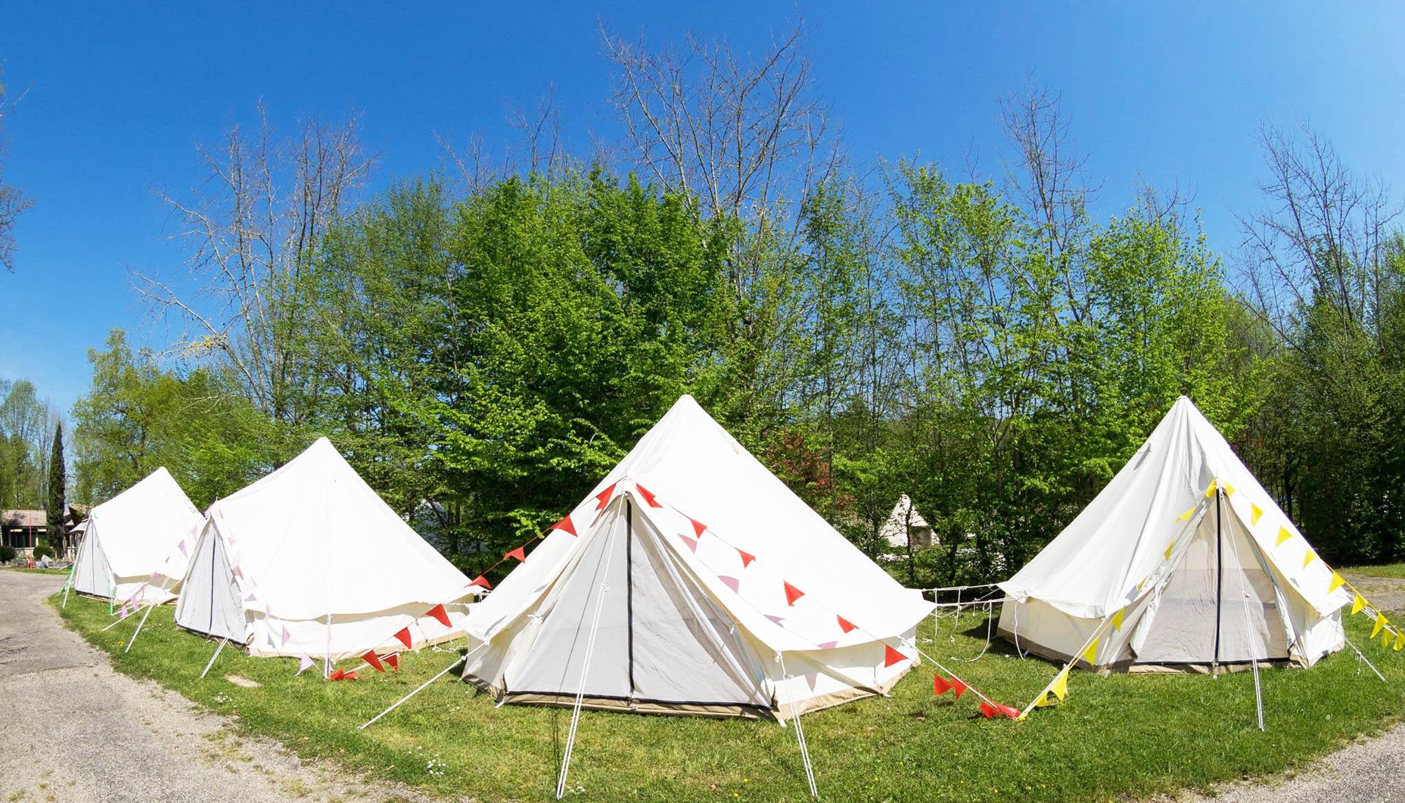 Billet + Garorock - Camping Sleep'em All - Tente Cloche