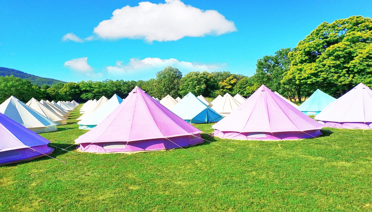 Ticket + The Glamping Company - Bell Tent at Bilbao BBK Live 2019