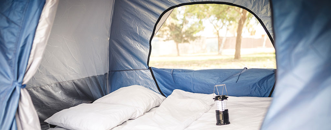 Ticket + Easy Tent Deluxe @ Campfest Glamping