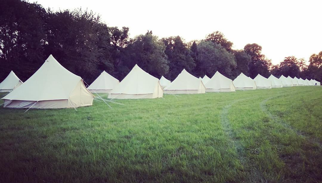 Ticket + Simple Bell Tent @ Goatfest