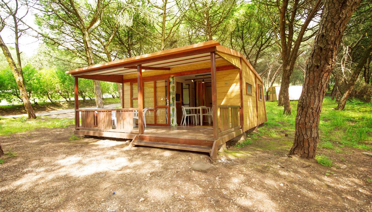 Bilhete + Bungalow Esquilo no Lisboa Camping & Bungalows
