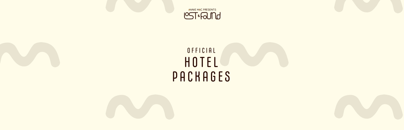 Annie Mac Presents Lost & Found Hotel Packages