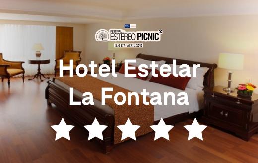 Entrada + Hotel Estelar La Fontana