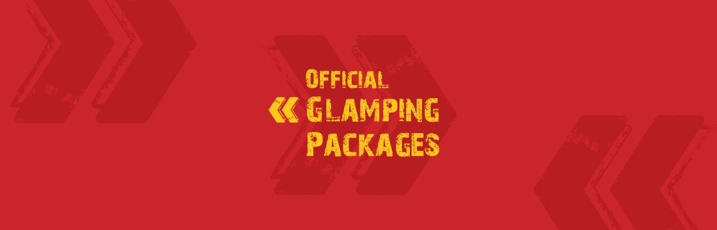 Reading Ticket + Glamping Packages