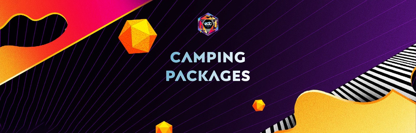 GA Ticket + Camping Packages