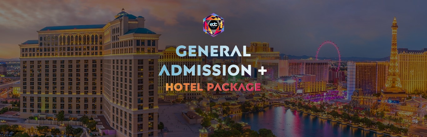 GA Ticket + Hotel Packages