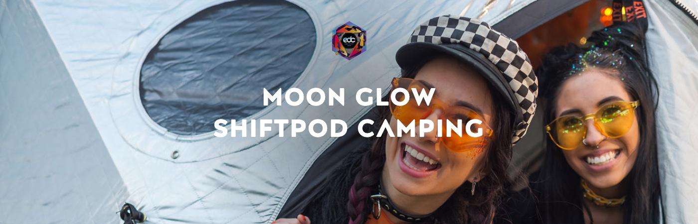 Ticket + Moon Glow Shiftpod Camping