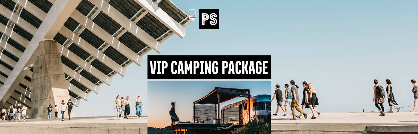 Primavera Sound VIP Ticket + Camping Packages