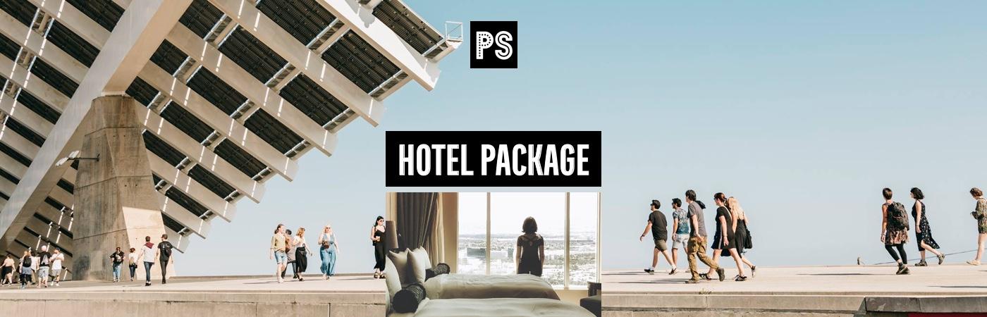 Primavera Sound Ticket- + Hotel-Pakete