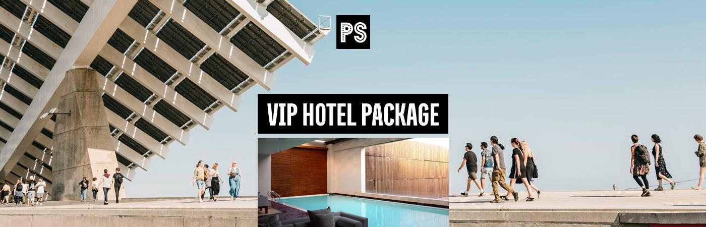 Primavera Sound VIP-Ticket- + Hotel-Pakete