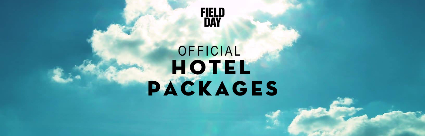 Field Day Ticket + Hotel Packages
