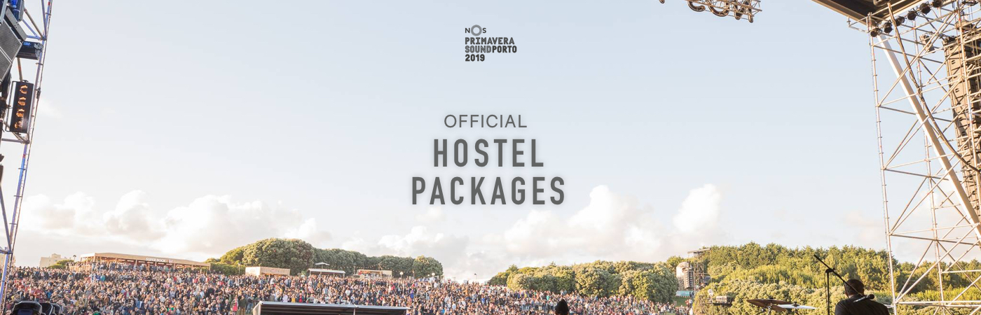 NOS Primavera Sound Ticket + Hostel Packages