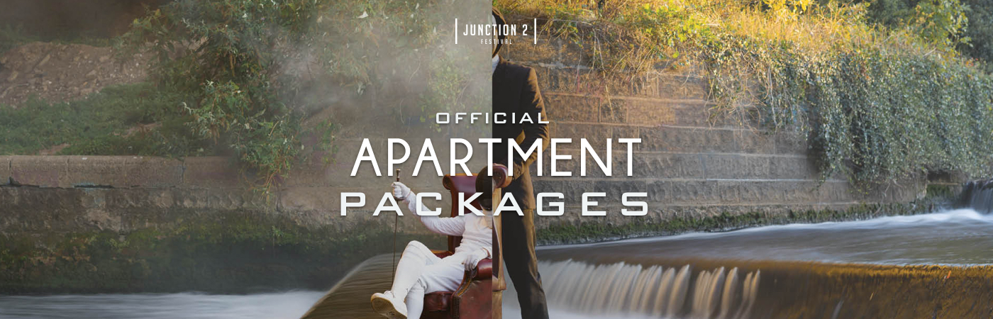 Junction 2 Festival Ticket + Apartment Packages