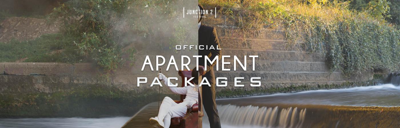 Junction 2 Festival Apartment Packages