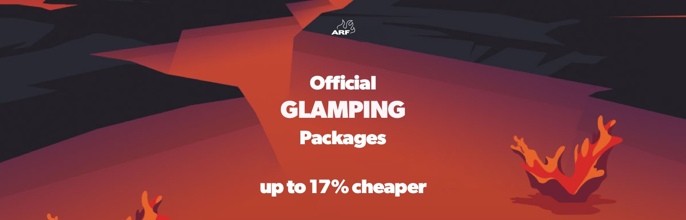 Azkena Rock Ticket + Glamping Packages
