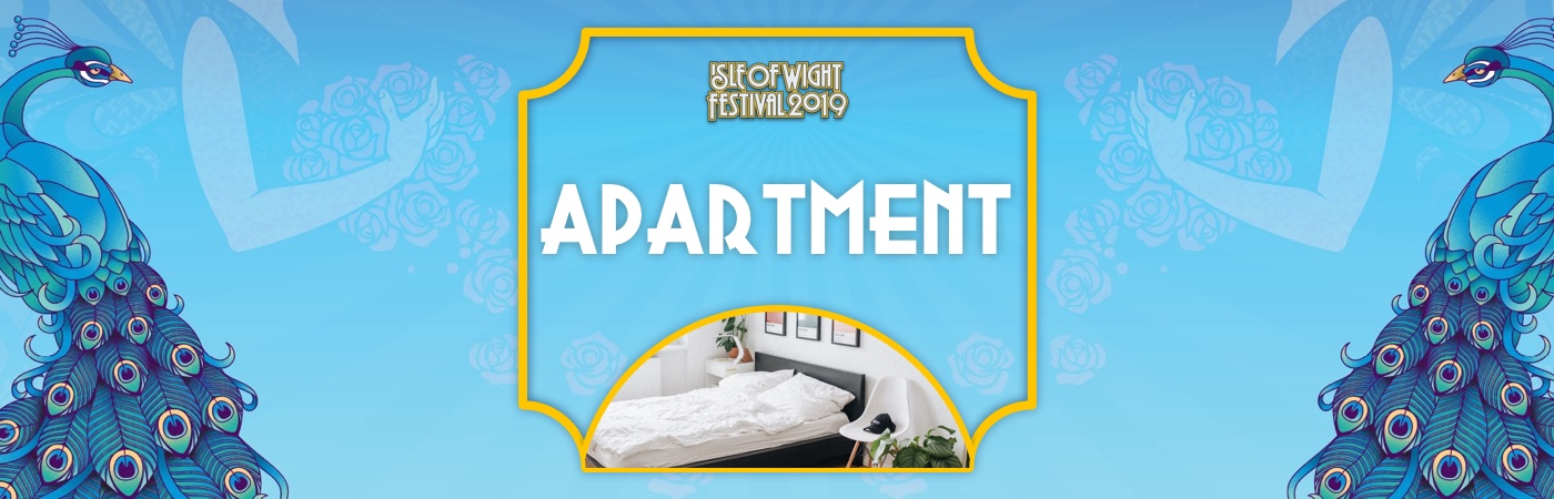 Isle of Wight Ticket + Apartment Packages