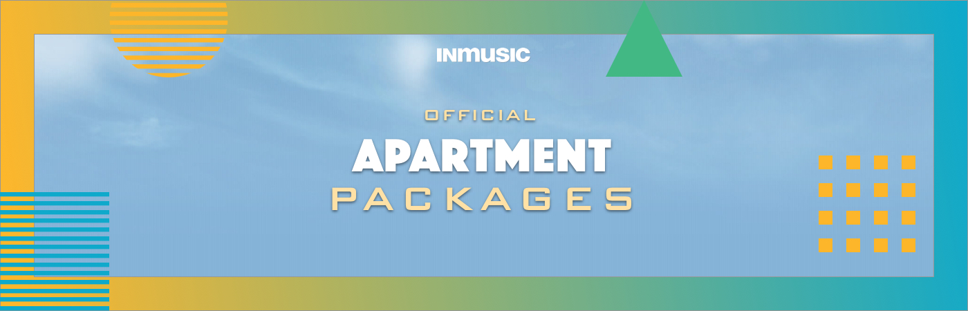 INmusic Festival Ticket + Apartment Packages