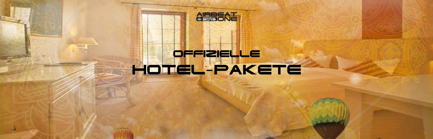 Airbeat One Ticket- + Hotel-Pakete