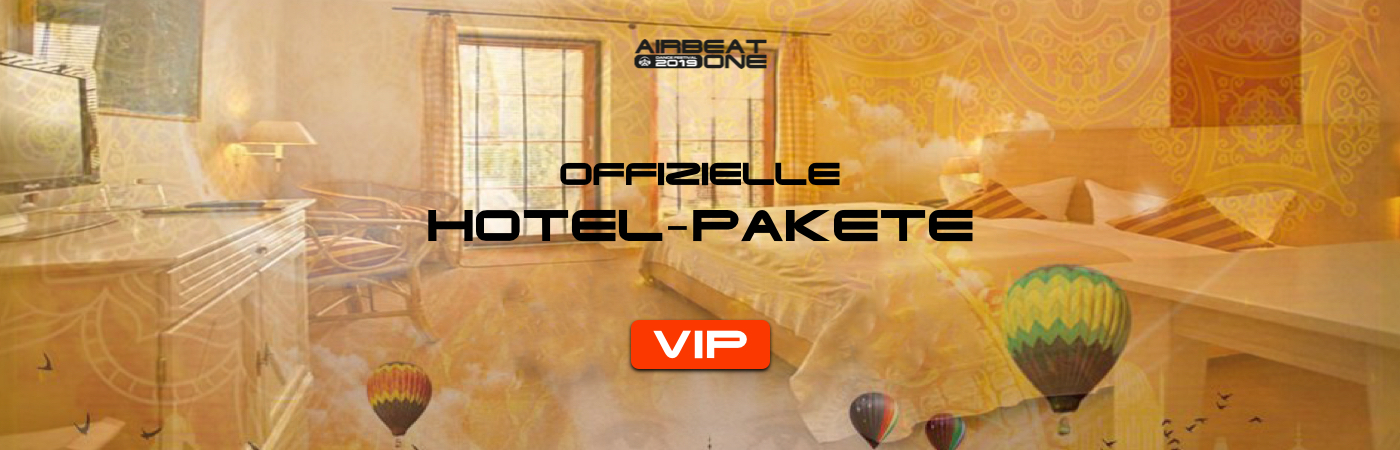 Airbeat One VIP-Ticket- und Hotel-Pakete