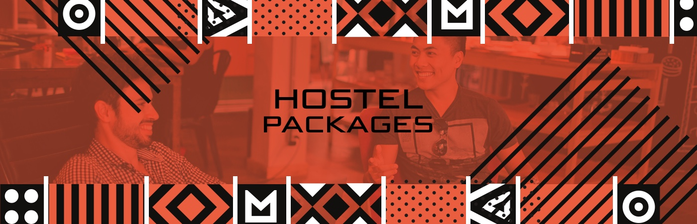 Community Festival Ticket + Hostel Packages
