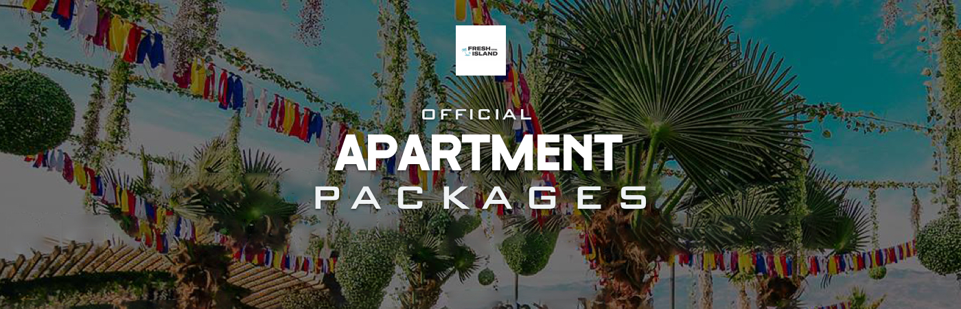 Packages Billet + Appartement - Fresh Island