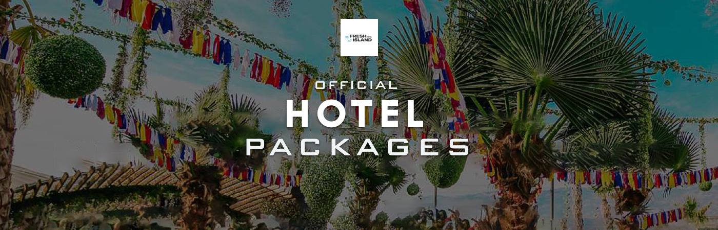 Packages Billet + Hôtel - Fresh Island Festival
